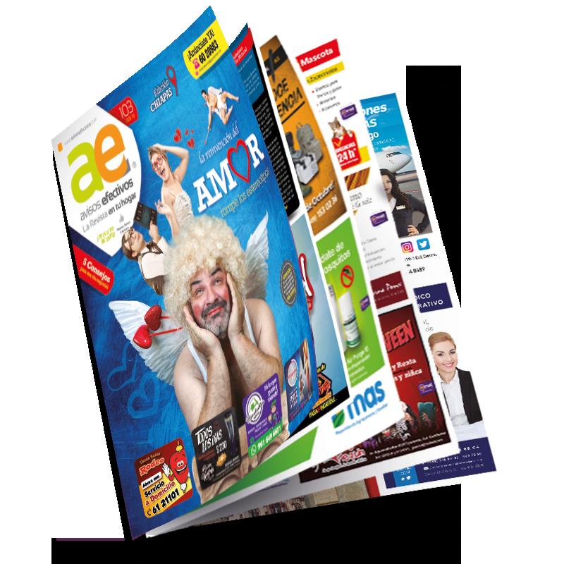 Revista Avisos Efectivos Febrero 2018 Grupo Innova Arte Digital